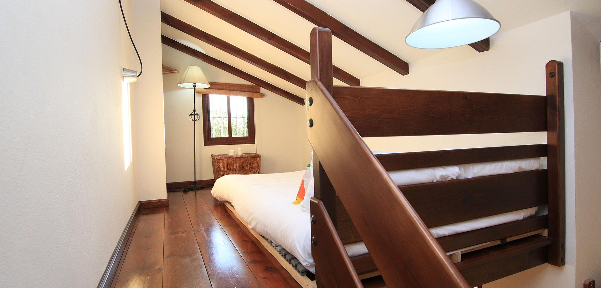 casa rural con aire acondicionado