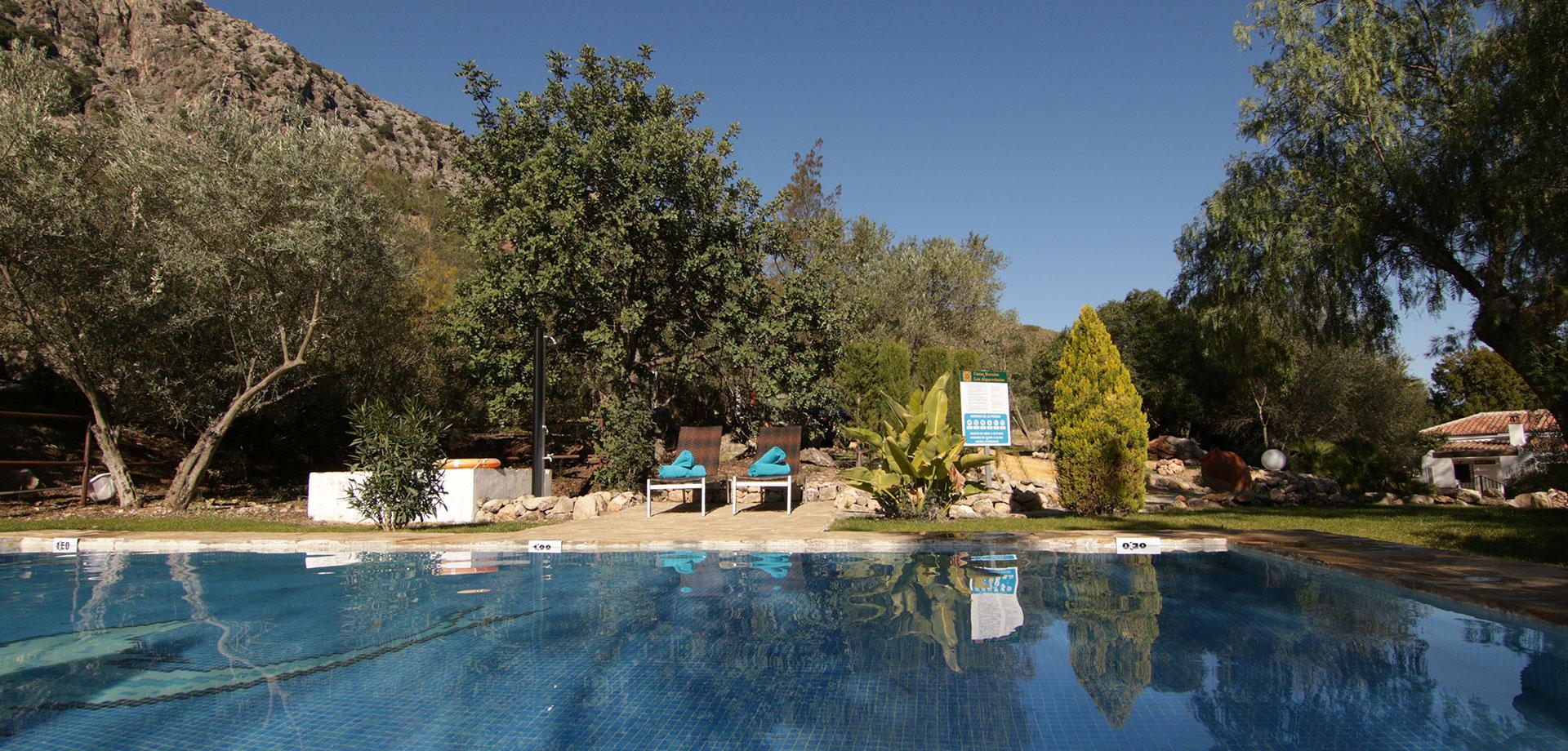 casa rural con piscina privada