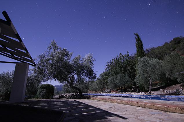 fotografia nocturna sierra