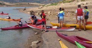 kayak en pantano