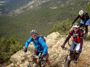 senderismo ciclismo
